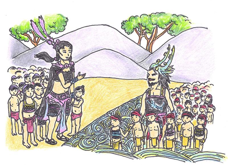Sự tích đền Hùng Phú Thọ với 18 vị vua Hùng