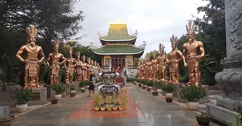 Sự tích đền Hùng Phú Thọ với 18 vị vua Hùng Vương