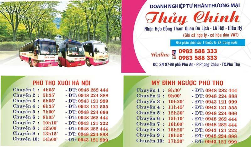 Cách đi đền Hùng từ Hà Nội bằng xe khách thuận tiện nhất