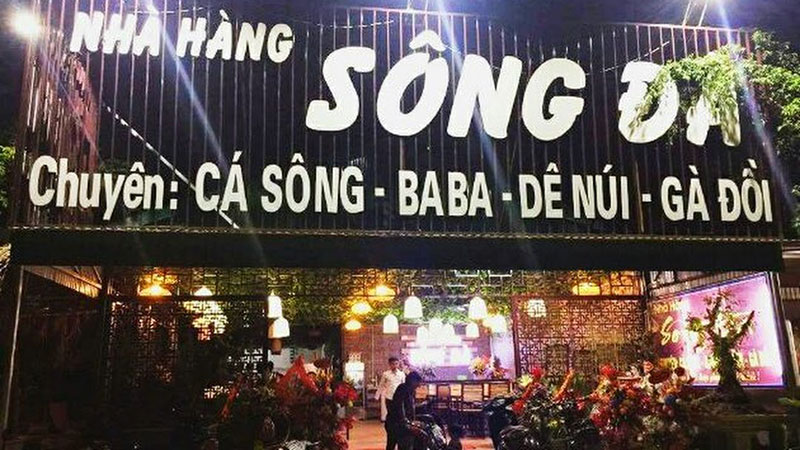 Nhà hàng Duy Hưng Dê núi đá cá Sông Đà