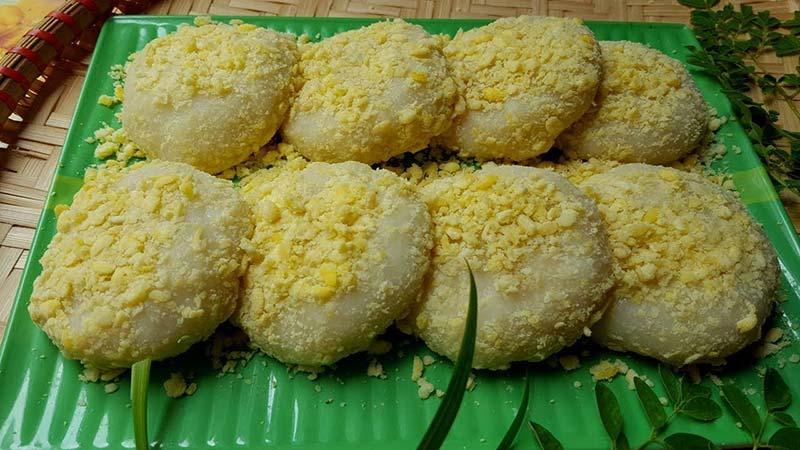 Nguồn gốc của bánh giầy Chí Tiên