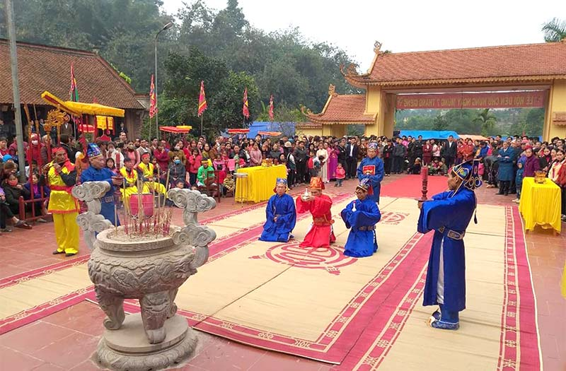 Đền Chu Hưng nơi lưu trữ những giá trị văn hoá, lịch sử dân tộc
