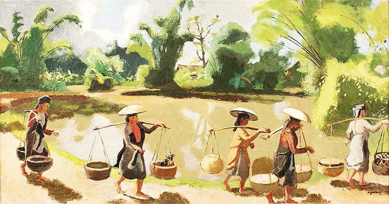 Bách nghệ trình làng tái hiện chân thực bức tranh cuộc sống của người dân làng quê Bắc Bộ